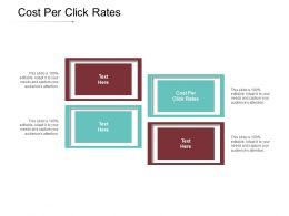 Cost Per Click Rates Ppt Powerpoint Presentation Gallery Images Cpb