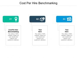 Cost Per Hire Benchmarking Ppt Powerpoint Presentation Slides Design Inspiration Cpb