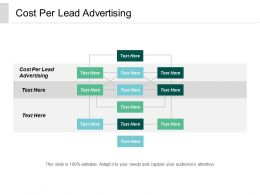 Cost Per Lead Advertising Ppt Powerpoint Presentation File Structure Cpb