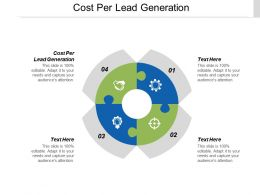 Cost Per Lead Generation Ppt Powerpoint Presentation Summary Backgrounds Cpb