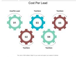 Cost Per Lead Ppt Powerpoint Presentation Gallery Graphics Cpb