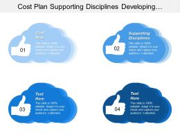 Cost Plan Supporting Disciplines Developing Underpinning Internal Capacities