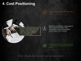 Cost Positioning Ppt Background Designs