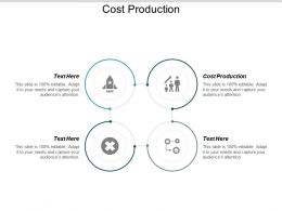 Cost Production Ppt Powerpoint Presentation Ideas Rules Cpb