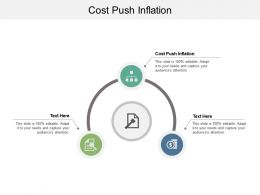 Cost Push Inflation Ppt Powerpoint Presentation Gallery Designs Download Cpb