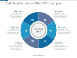 Cost Reduction Action Plan Ppt Examples