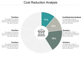 Cost Reduction Analysis Ppt Powerpoint Presentation Infographic Template Model Cpb