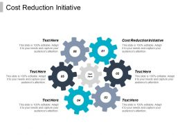 Cost Reduction Initiative Ppt Powerpoint Presentation Icon Infographics Cpb