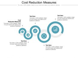 Cost Reduction Measures Ppt Powerpoint Presentation Portfolio Layout Cpb