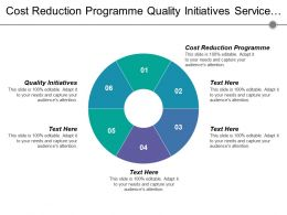Cost Reduction Programme Quality Initiatives Service Design Service Transition