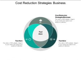 Cost Reduction Strategies Business Ppt Powerpoint Presentation Pictures Demonstration Cpb