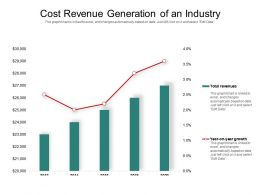 Cost Revenue Generation Of An Industry