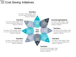 Cost Saving Initiatives Ppt Powerpoint Presentation Icon Inspiration Cpb