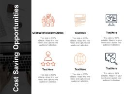 Cost Saving Opportunities Ppt Powerpoint Presentation Outline Designs Download Cpb