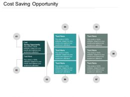 Cost Saving Opportunity Ppt Powerpoint Presentation File Master Slide Cpb