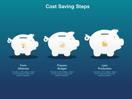 Cost Saving Steps