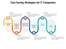 Cost Saving Strategies For IT Companies
