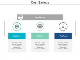 Cost Savings Ppt Powerpoint Presentation Gallery Graphics Download Cpb