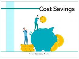 Cost Savings Sustainability Businesses Management Identifying Organization