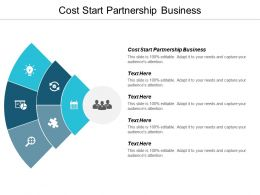 Cost Start Partnership Business Ppt Powerpoint Presentation Outline Ideas Cpb