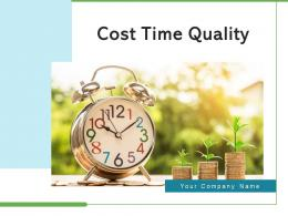 Cost Time Quality Customer Satisfaction Budget Variance Project Cost