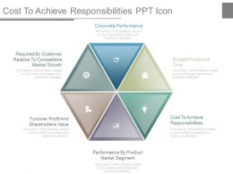 Cost To Achieve Responsibilities Ppt Icon