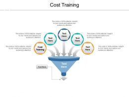 Cost Training Ppt Powerpoint Presentation Show Cpb