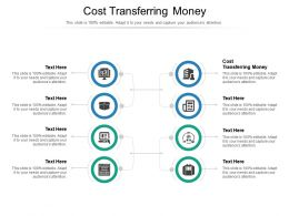 Cost Transferring Money Ppt Powerpoint Presentation Gallery Background Image Cpb
