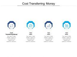 Cost Transferring Money Ppt Powerpoint Presentation Gallery Slide Portrait Cpb