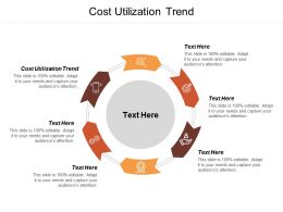 Cost Utilization Trend Ppt Powerpoint Presentation Pictures Slideshow Cpb