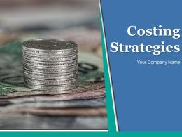 Costing Strategies Powerpoint Presentation Slides