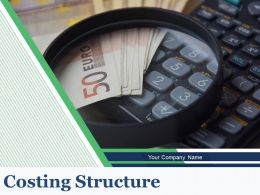 Costing Structure Powerpoint Presentation Slides