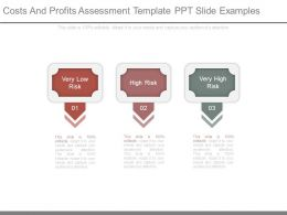 Costs And Profits Assessment Template Ppt Slide Examples
