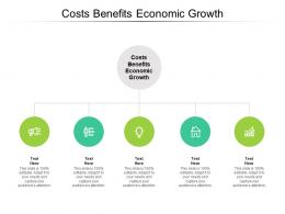 Costs Benefits Economic Growth Ppt Powerpoint Presentation Gallery Brochure Cpb