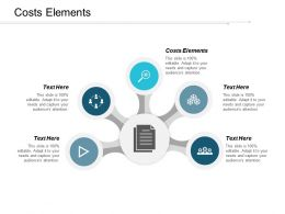 Costs Elements Ppt Powerpoint Presentation Gallery Show Cpb