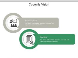Councils Vision Ppt Powerpoint Presentation File Structure Cpb