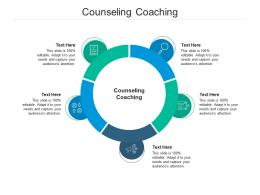 Counseling Coaching Ppt Powerpoint Presentation Model Portrait Cpb