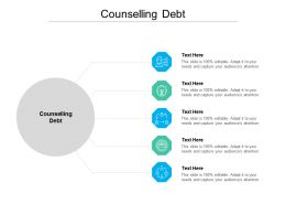 Counselling Debt Ppt Powerpoint Presentation Summary Graphics Pictures Cpb