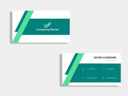 Counsellor Business Card Template