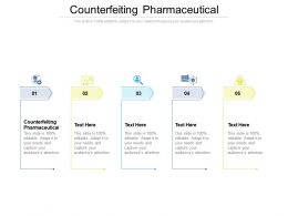 Counterfeiting Pharmaceutical Ppt Powerpoint Presentation Styles File Cpb