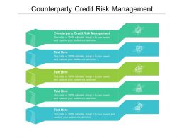 Counterparty Credit Risk Management Ppt Powerpoint Presentation Outline Show Cpb