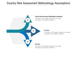 Country Risk Assessment Methodology Assumptions Ppt Powerpoint Presentation Model Clipart Cpb
