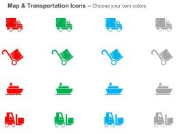 courier_van_ship_forklift_shipping_system_ppt_icons_graphics_Slide02