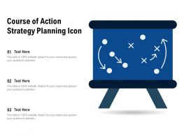 Course Of Action Strategy Planning Icon