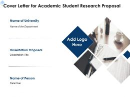 Cover Letter For Academic Student Research Proposal L1717 Ppt Powerpoint Topics