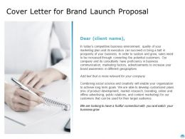 Cover Letter For Brand Launch Proposal Ppt Powerpoint Presentation File Mockup