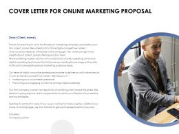 Cover Letter For Online Marketing Proposal Ppt Presentation Infographics Tips