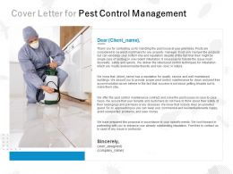Cover Letter For Pest Control Management C1082 Ppt Powerpoint Presentation Layout