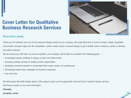 Cover Letter For Qualitative Business Research Services Ppt Inspiration