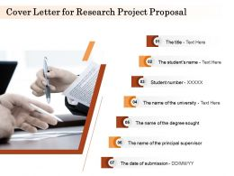 Cover Letter For Research Project Proposal Ppt Powerpoint Presentation Backgrounds